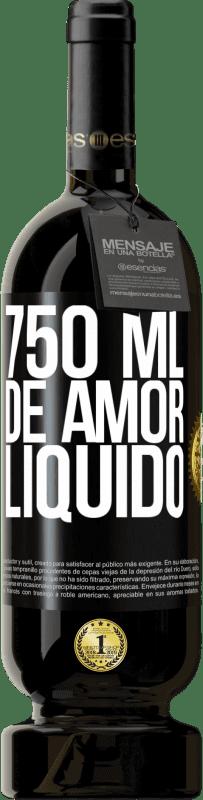 29,95 € Envio grátis | Vinho tinto Edição Premium MBS® Reserva 750 ml de amor líquido Etiqueta Preta. Etiqueta personalizável Reserva 12 Meses Colheita 2013 Tempranillo