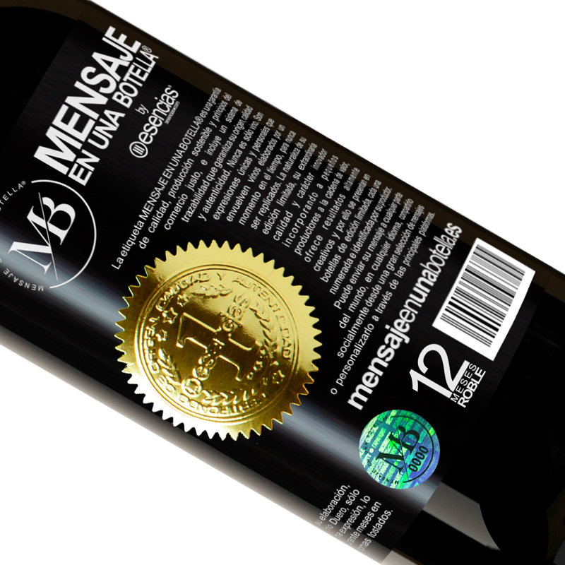 Limited Edition. «Do not judge the days by the harvest you collect, but by the seeds you plant» Premium Edition MBS® Reserva
