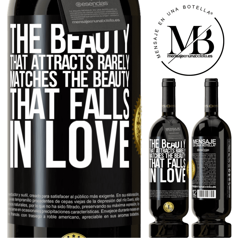 29,95 € Free Shipping | Red Wine Premium Edition MBS® Reserva The beauty that attracts rarely matches the beauty that falls in love Black Label. Customizable label Reserva 12 Months Harvest 2013 Tempranillo
