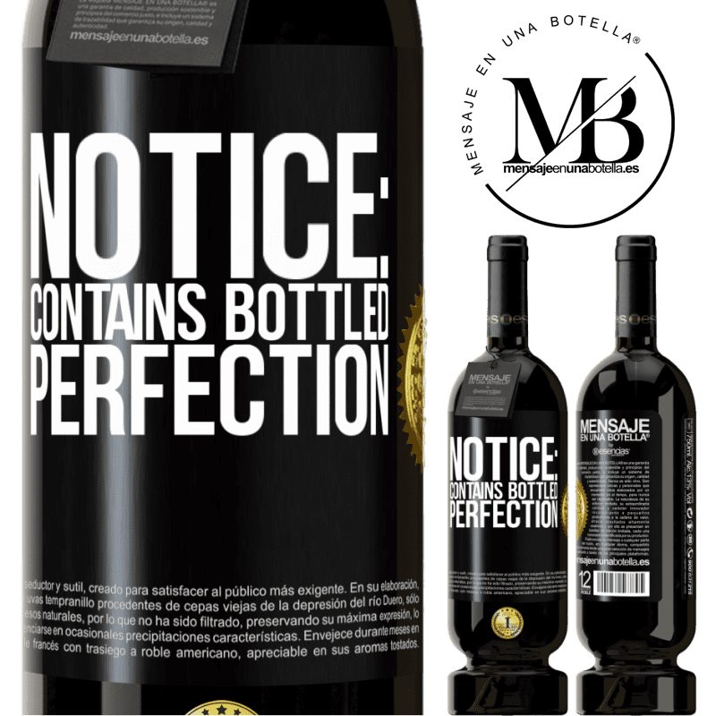 29,95 € Free Shipping | Red Wine Premium Edition MBS® Reserva Notice: contains bottled perfection Black Label. Customizable label Reserva 12 Months Harvest 2013 Tempranillo