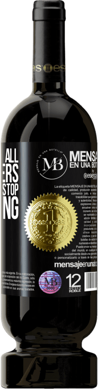 «They can cut all the flowers, but they can't stop the spring» Premium Edition MBS® Reserva