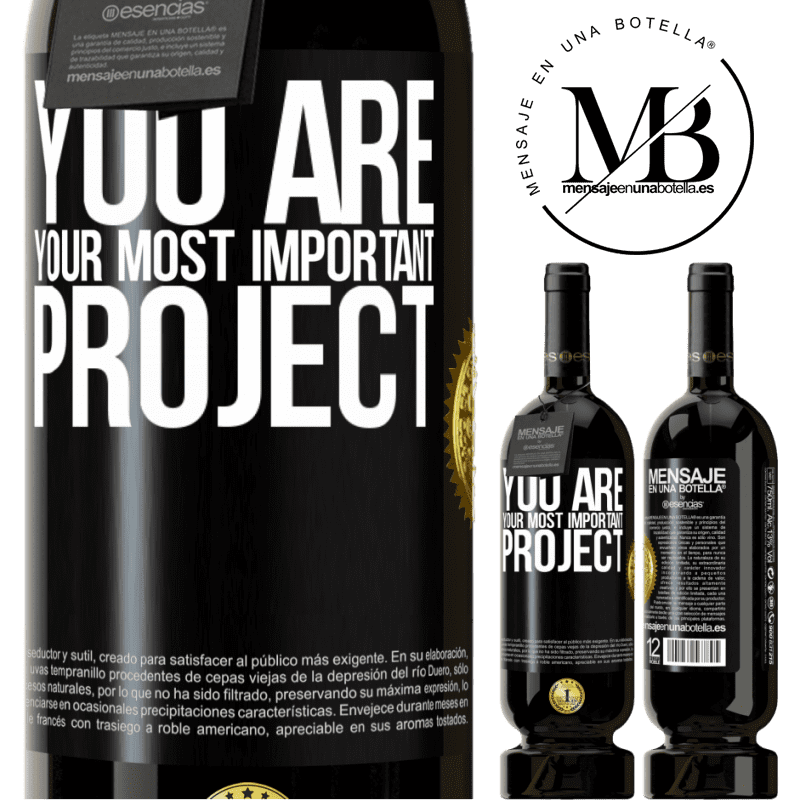 29,95 € Free Shipping | Red Wine Premium Edition MBS® Reserva You are your most important project Black Label. Customizable label Reserva 12 Months Harvest 2013 Tempranillo