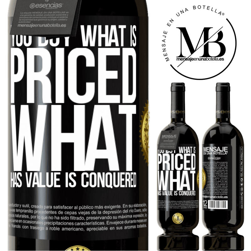 29,95 € Free Shipping | Red Wine Premium Edition MBS® Reserva You buy what is priced. What has value is conquered Black Label. Customizable label Reserva 12 Months Harvest 2013 Tempranillo