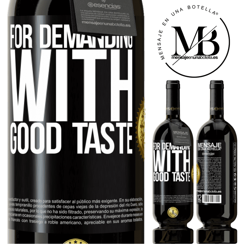 29,95 € Free Shipping | Red Wine Premium Edition MBS® Reserva For demanding with good taste Black Label. Customizable label Reserva 12 Months Harvest 2013 Tempranillo