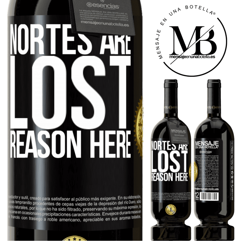 29,95 € Free Shipping | Red Wine Premium Edition MBS® Reserva Nortes are lost. Reason here Black Label. Customizable label Reserva 12 Months Harvest 2013 Tempranillo