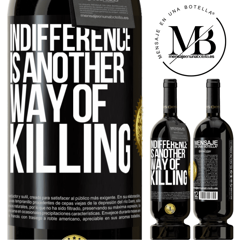 29,95 € Free Shipping | Red Wine Premium Edition MBS® Reserva Indifference is another way of killing Black Label. Customizable label Reserva 12 Months Harvest 2013 Tempranillo