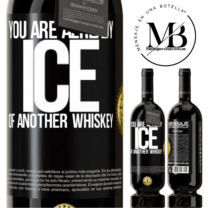 29,95 € Free Shipping | Red Wine Premium Edition MBS® Reserva You are already ice of another whiskey Black Label. Customizable label Reserva 12 Months Harvest 2013 Tempranillo