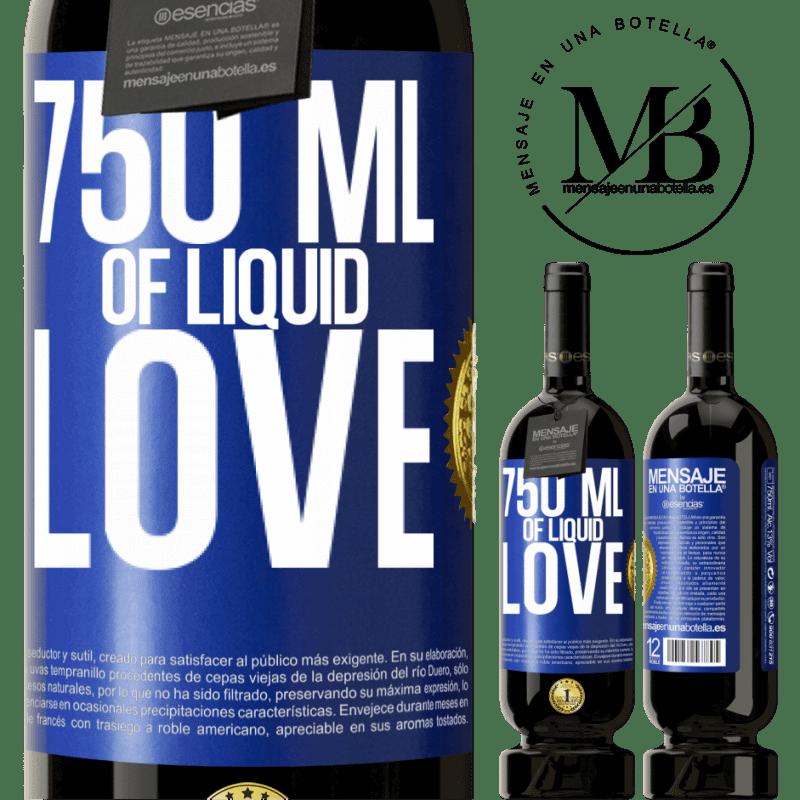 29,95 € Free Shipping | Red Wine Premium Edition MBS® Reserva 750 ml of liquid love Blue Label. Customizable label Reserva 12 Months Harvest 2013 Tempranillo