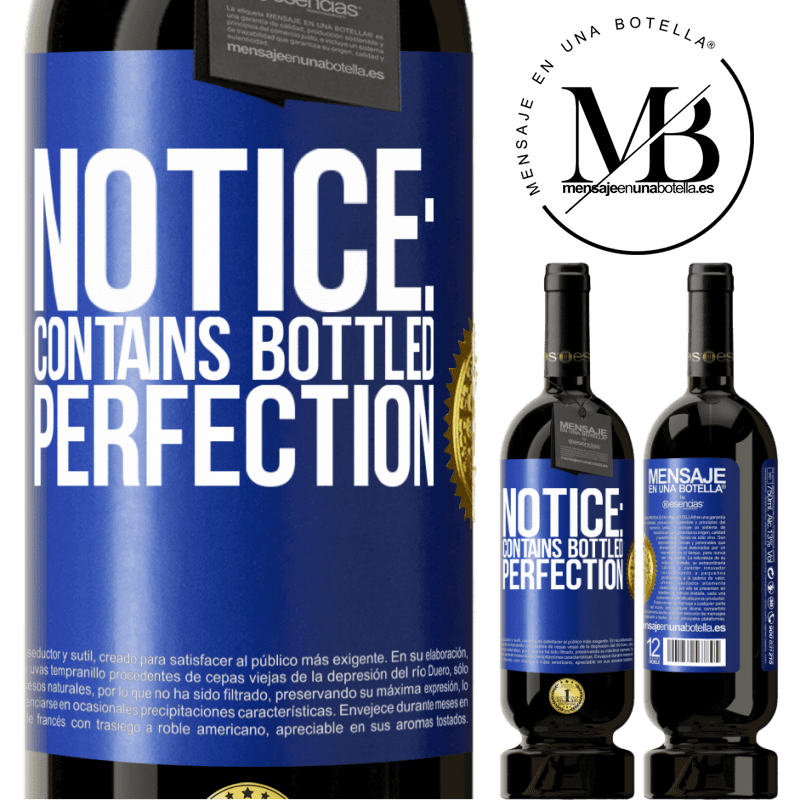 29,95 € Free Shipping | Red Wine Premium Edition MBS® Reserva Notice: contains bottled perfection Blue Label. Customizable label Reserva 12 Months Harvest 2013 Tempranillo
