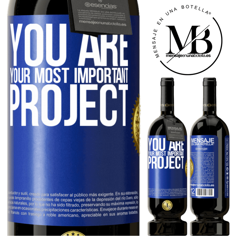 29,95 € Free Shipping | Red Wine Premium Edition MBS® Reserva You are your most important project Blue Label. Customizable label Reserva 12 Months Harvest 2013 Tempranillo