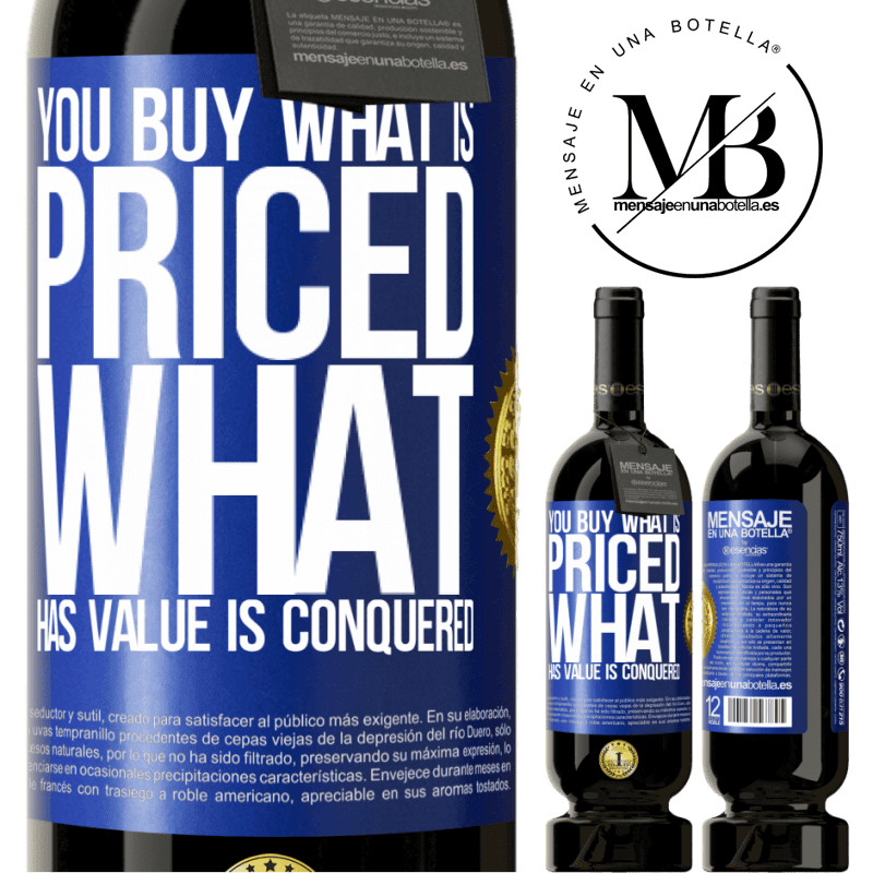 29,95 € Free Shipping | Red Wine Premium Edition MBS® Reserva You buy what is priced. What has value is conquered Blue Label. Customizable label Reserva 12 Months Harvest 2013 Tempranillo