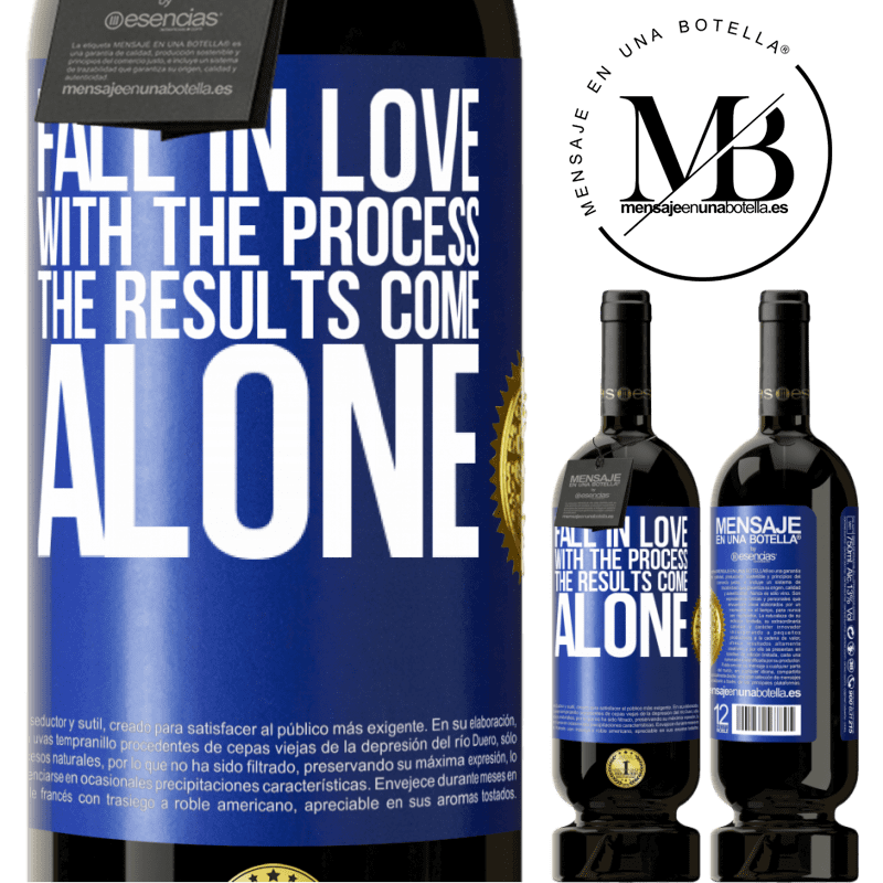 29,95 € Free Shipping | Red Wine Premium Edition MBS® Reserva Fall in love with the process, the results come alone Blue Label. Customizable label Reserva 12 Months Harvest 2013 Tempranillo