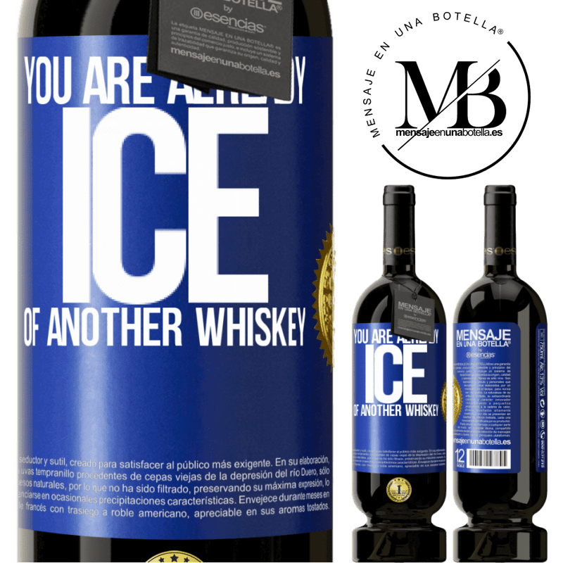 29,95 € Free Shipping | Red Wine Premium Edition MBS® Reserva You are already ice of another whiskey Blue Label. Customizable label Reserva 12 Months Harvest 2013 Tempranillo