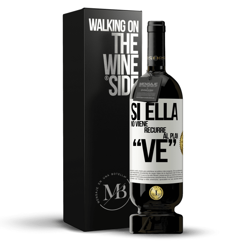 29,95 € Free Shipping   Red Wine Premium Edition MBS® Reserva Si ella no viene, recurre al plan VE White Label. Customizable label Reserva 12 Months Harvest 2013 Tempranillo