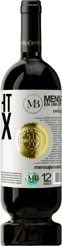 «Thought is tax free» Premium Edition MBS® Reserva