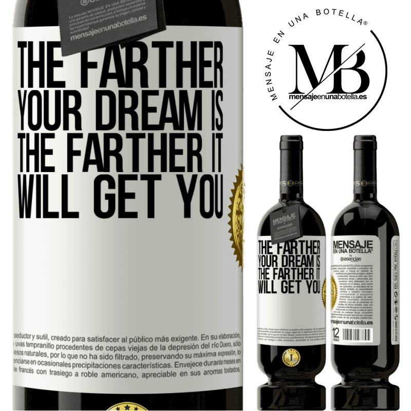 29,95 € Free Shipping | Red Wine Premium Edition MBS® Reserva The farther your dream is, the farther it will get you White Label. Customizable label Reserva 12 Months Harvest 2013 Tempranillo