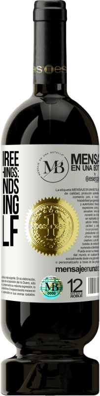 «There are three extremely hard things: steel, diamonds, and knowing oneself» Premium Edition MBS® Reserva