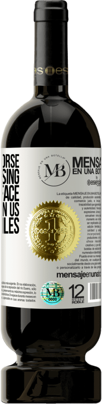 «There is no worse sin than causing tears on a face that has given us its best smiles» Premium Edition MBS® Reserva