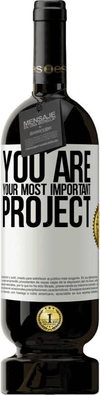 29,95 € Free Shipping | Red Wine Premium Edition MBS® Reserva You are your most important project White Label. Customizable label Reserva 12 Months Harvest 2013 Tempranillo