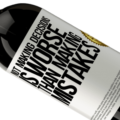 Unique & Personal Expressions. «Not making decisions is worse than making mistakes» Premium Edition MBS® Reserva