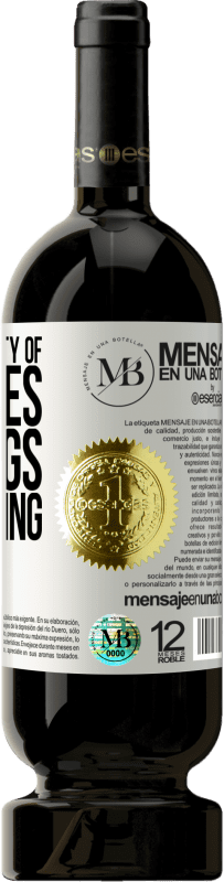 «There are plenty of sausages and eggs are missing» Premium Edition MBS® Reserva