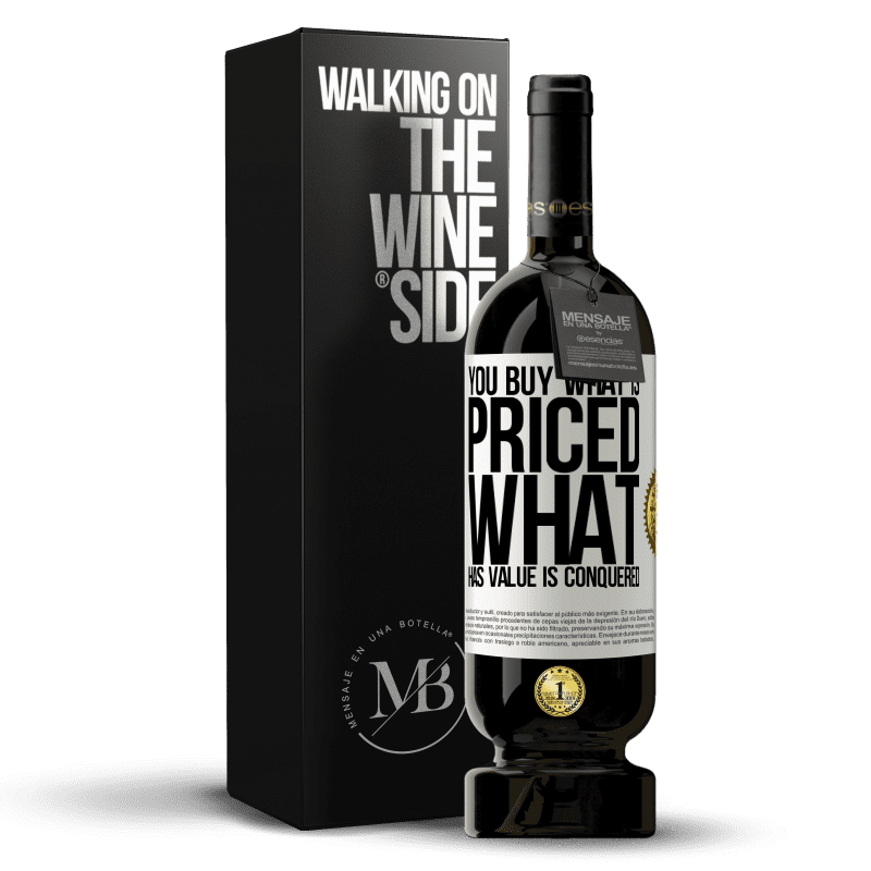 29,95 € Free Shipping | Red Wine Premium Edition MBS® Reserva You buy what is priced. What has value is conquered White Label. Customizable label Reserva 12 Months Harvest 2013 Tempranillo