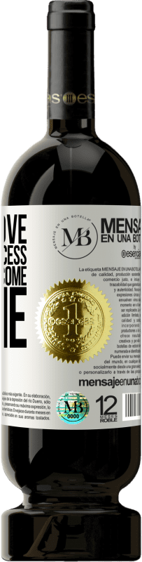 «Fall in love with the process, the results come alone» Premium Edition MBS® Reserva