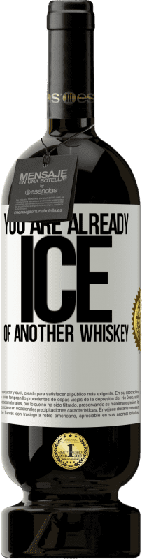 29,95 € Free Shipping | Red Wine Premium Edition MBS® Reserva You are already ice of another whiskey White Label. Customizable label Reserva 12 Months Harvest 2013 Tempranillo