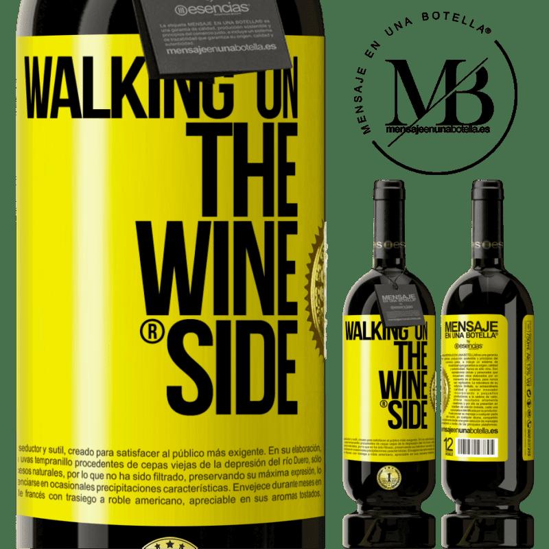 29,95 € Envoi gratuit | Vin rouge Édition Premium MBS® Reserva Walking on the Wine Side® Étiquette Jaune. Étiquette personnalisable Reserva 12 Mois Récolte 2013 Tempranillo