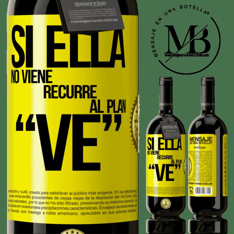 29,95 € Free Shipping   Red Wine Premium Edition MBS® Reserva Si ella no viene, recurre al plan VE Yellow Label. Customizable label Reserva 12 Months Harvest 2013 Tempranillo