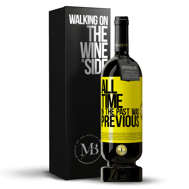 29,95 € Free Shipping | Red Wine Premium Edition MBS® Reserva All time in the past, was previous Yellow Label. Customizable label Reserva 12 Months Harvest 2013 Tempranillo