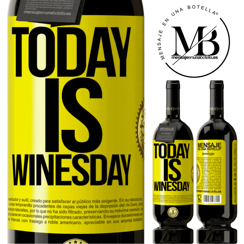 29,95 € Free Shipping | Red Wine Premium Edition MBS® Reserva Today is winesday! Yellow Label. Customizable label Reserva 12 Months Harvest 2013 Tempranillo