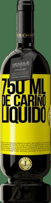 29,95 € Envío gratis | Vino Tinto Edición Premium MBS® Reserva 750 ml. de cariño líquido Etiqueta Amarilla. Etiqueta personalizable Reserva 12 Meses Cosecha 2013 Tempranillo