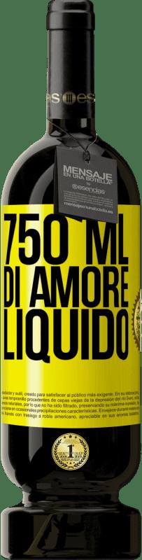 29,95 € Spedizione Gratuita | Vino rosso Edizione Premium MBS® Reserva 750 ml di amore liquido Etichetta Gialla. Etichetta personalizzabile Reserva 12 Mesi Raccogliere 2013 Tempranillo