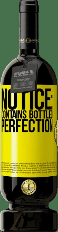 29,95 € | Red Wine Premium Edition MBS Reserva Notice: contains bottled perfection Yellow Label. Customizable label I.G.P. Vino de la Tierra de Castilla y León Aging in oak barrels 12 Months Harvest 2013 Spain Tempranillo