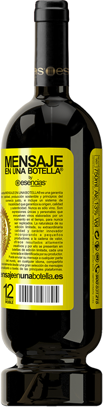 29,95 € | Red Wine Premium Edition MBS® Reserva Whoever has magic does not need tricks Yellow Label. Customizable label Reserva 12 Months Harvest 2013 Tempranillo