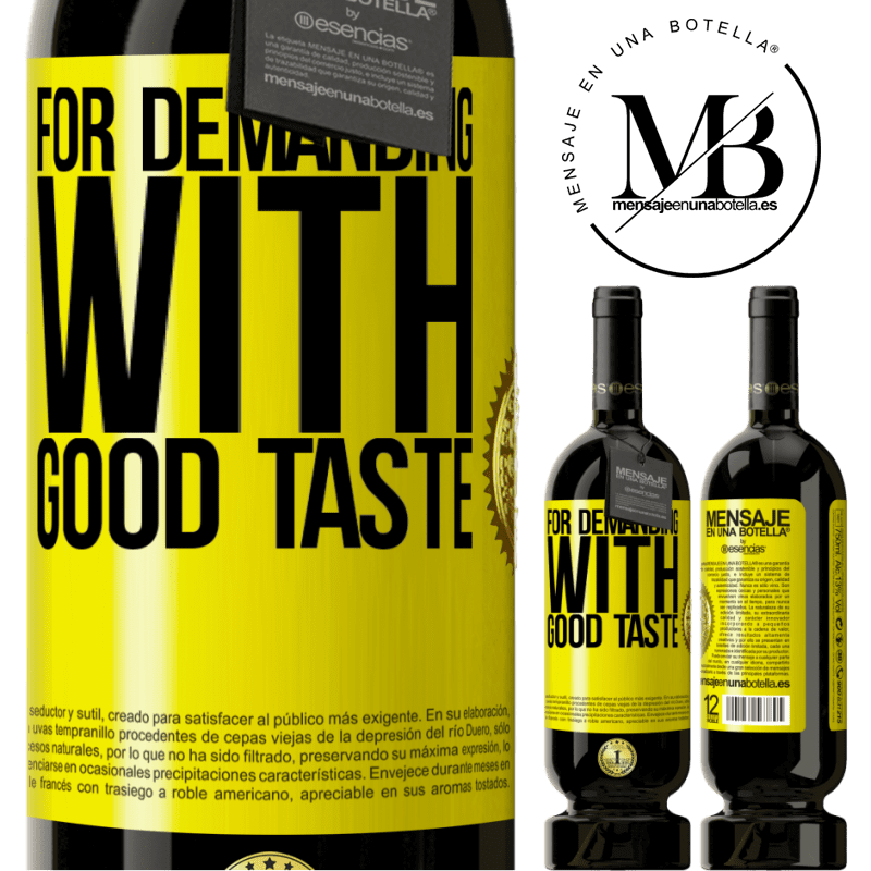 29,95 € Free Shipping | Red Wine Premium Edition MBS® Reserva For demanding with good taste Yellow Label. Customizable label Reserva 12 Months Harvest 2013 Tempranillo