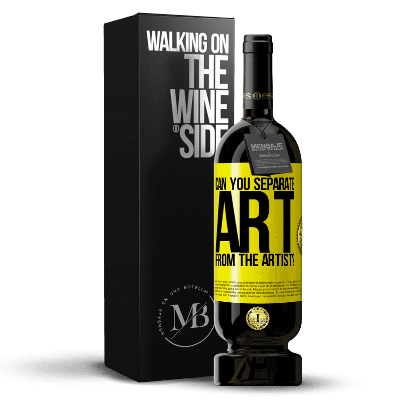 29,95 € Free Shipping   Red Wine Premium Edition MBS® Reserva can you separate art from the artist? Yellow Label. Customizable label Reserva 12 Months Harvest 2013 Tempranillo
