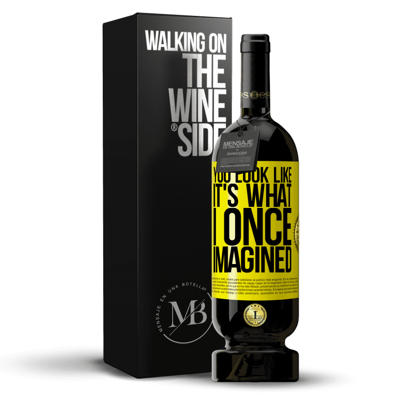 29,95 € Free Shipping | Red Wine Premium Edition MBS® Reserva You look like it's what I once imagined Yellow Label. Customizable label Reserva 12 Months Harvest 2013 Tempranillo