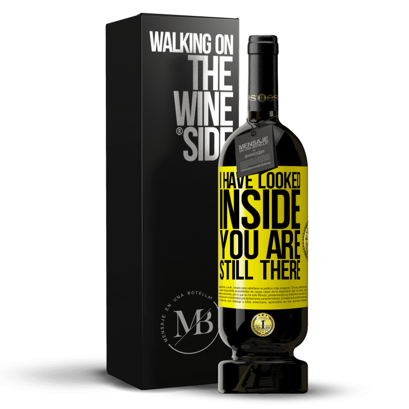29,95 € Free Shipping | Red Wine Premium Edition MBS® Reserva I have looked inside. You still there Yellow Label. Customizable label Reserva 12 Months Harvest 2013 Tempranillo