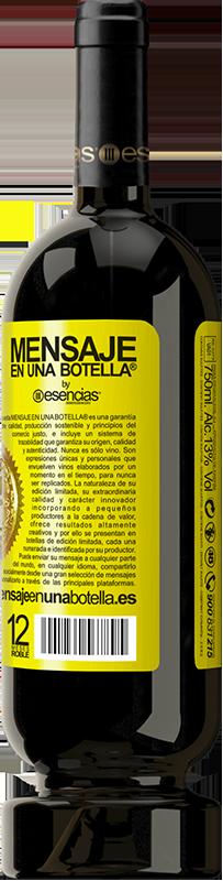 29,95 € 免费送货 | 红酒 高级版 MBS® Reserva 放屁后的一切都是胡扯 黄色标签. 可自定义的标签 Reserva 12 个月 收成 2013 Tempranillo