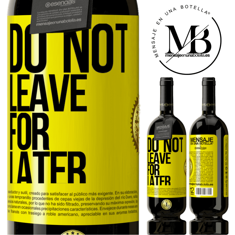 29,95 € Free Shipping | Red Wine Premium Edition MBS® Reserva Do not leave for later Yellow Label. Customizable label Reserva 12 Months Harvest 2013 Tempranillo