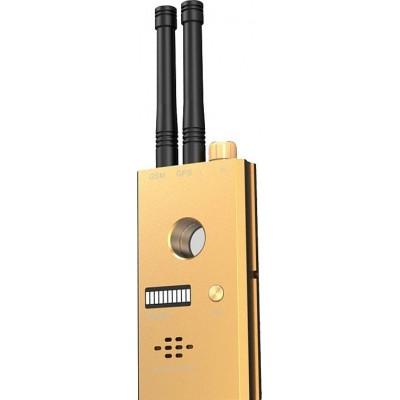 172,95 € Envío gratis | Detectores de Señal Detector transmisor inalámbrico de alta sensibilidad. Antena dual GSM y GPS. Alarma de voz