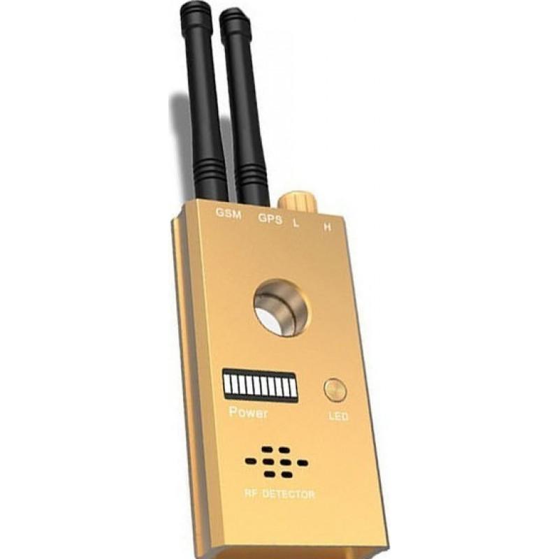 172,95 € 免费送货 | 信号探测器 高灵敏度无线发射探测器。 GSM和GPS双天线。语音报警