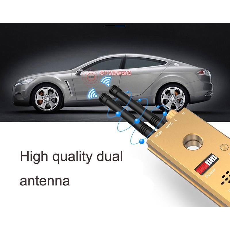 172,95 € Envoi gratuit | Détecteurs de Signal Détecteur de transmission sans fil à haute sensibilité. Double antenne GSM et GPS. Alarme vocale