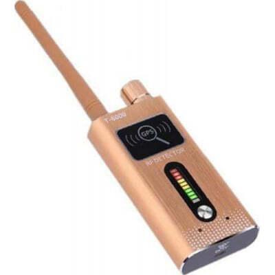 85,95 € Spedizione Gratuita   Rilevatori di Segnale Rilevatore di segnale wireless portatile ad alta sensibilità. 1.2GHz / 2.4GHz / 5.8GHz / 2G / 3G / 4G. Rilevatore di telecamere