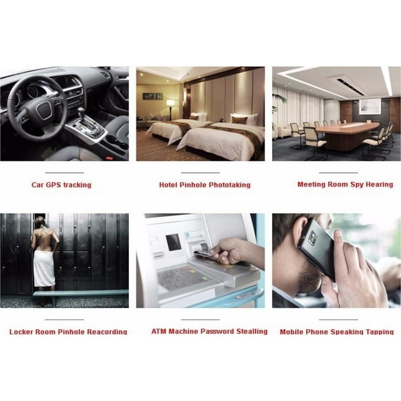 85,95 € Kostenloser Versand | Signalmelder Hochempfindlicher tragbarer drahtloser Signaldetektor. 1,2 GHz / 2,4 GHz / 5,8 GHz / 2 G / 3G / 4 G. Drahtloser Kamera-Detektor