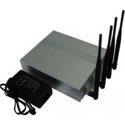 4 antennes. Puissant bloqueur de signal