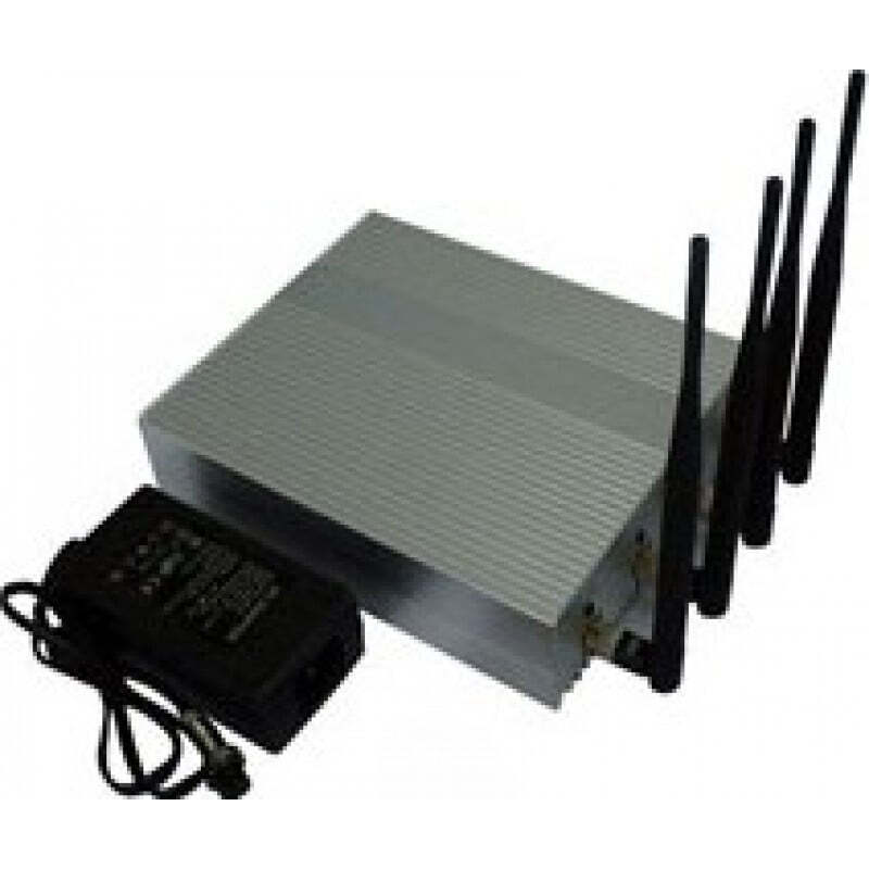 Cell Phone Jammers 4 Antennas. Powerful signal blocker