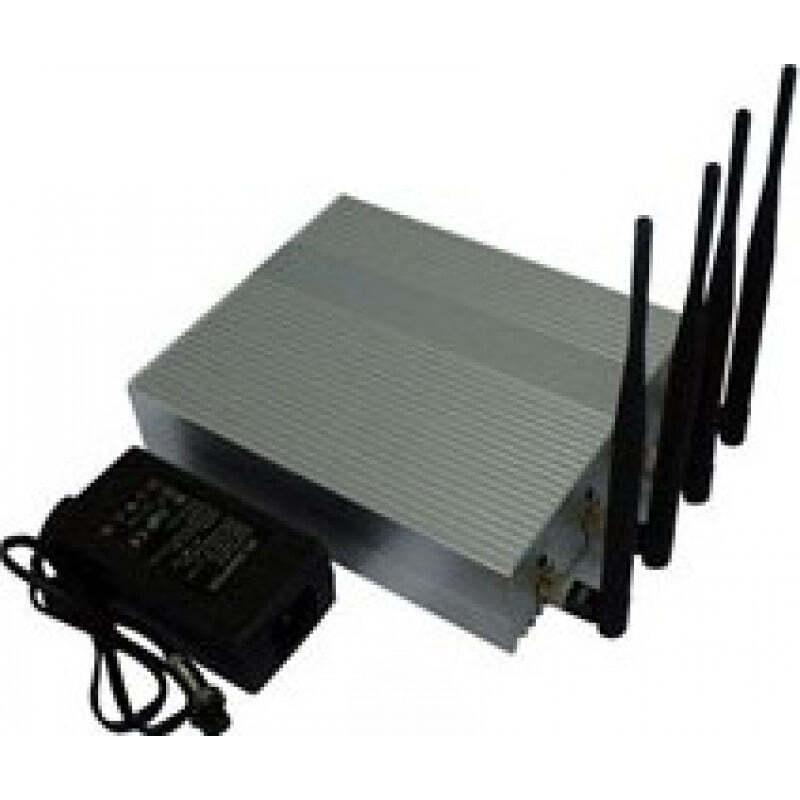 Handy-Störsender 4 Antennen. Leistungsstarker Signalblocker